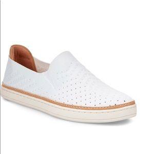 Ugg Sammy White Slip On Sneakers
